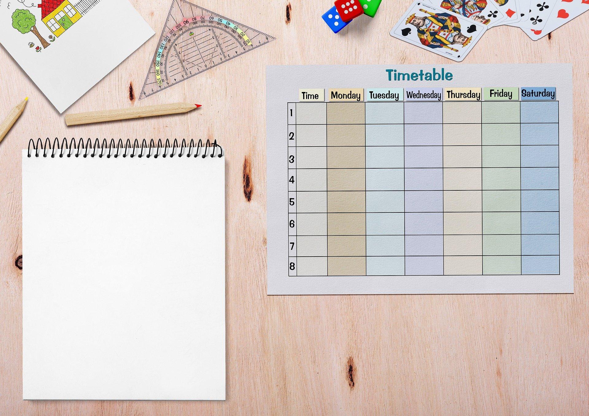 Il calendario visivo, uno strumento per gestire la routine dei nostri bambini